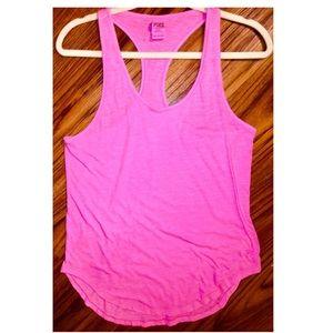 VS PINK halter sleepwear top in hot pink size S